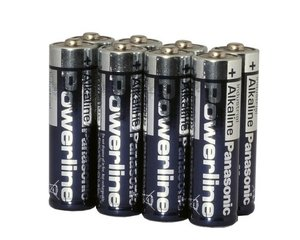 8x1.5V AA batterier till övervaknings-/åtelkameror