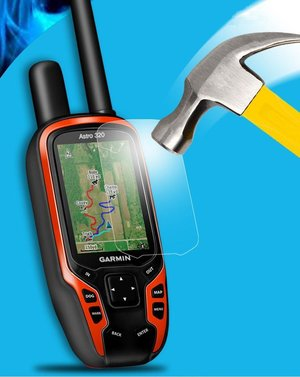 GARMIN ASTRO 320/220 Displayskydd.